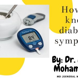 How to know diabetes symptoms