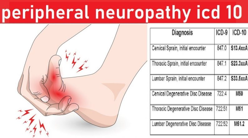 peripheral neuropathy icd 10