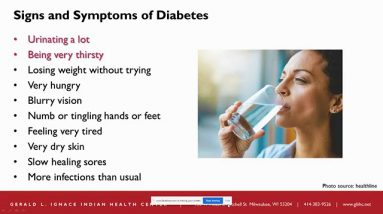Signs and Symptoms of Diabetes