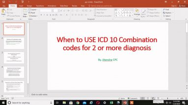 When to use COMBINATION CODES in ICD 10 coding